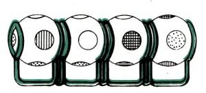 Четыре цвета (волшебные шарики): головоломка своими руками