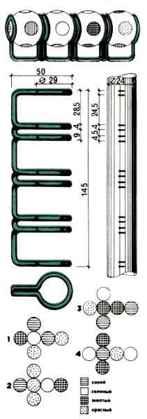 Четыре цвета схема: головоломка своими руками