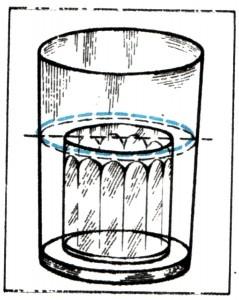 Исчезающий стакан: фокус