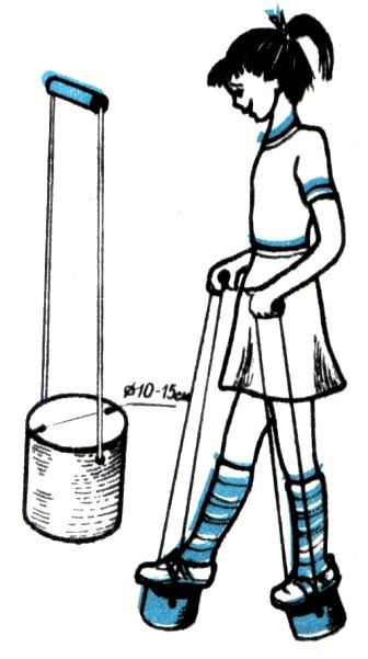 Как сделать зимние ходули - Ross-plast.ru