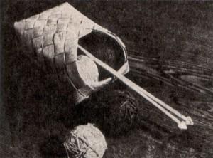 плетение из бересты, лыко, короб, плетение, кузовок