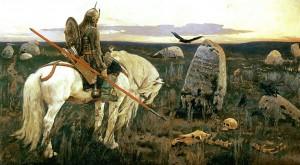 Витязь на распутье: Виктор Васнецов