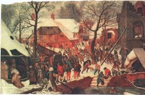 Поклонение волхвов в снегопаде: Питер Брейгель