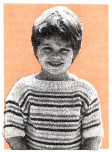 Джемпер для мальчика, вязание спицами, легко