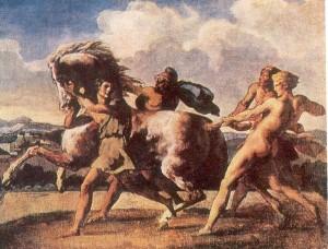 Рабы, останавливающие лошадь: Теодор Жерико