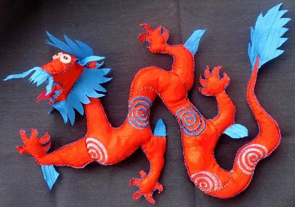 Подарок в год дракона своими руками