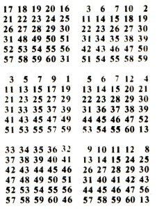 Карточки с цифрами: фокусы