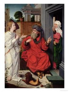 Авраам с женой Сарой и Ангелом, Великий учитель Авраам