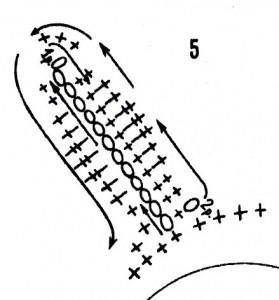 Прихватка Подсолнух, крючком, своими руками, просто, схема