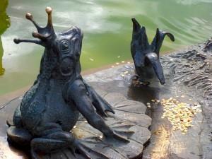 Царевна - лягушка, памятник