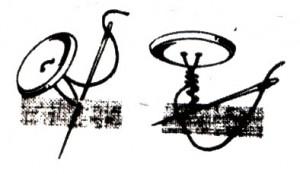 Школа шитья,  Пришивание пуговиц к изделию