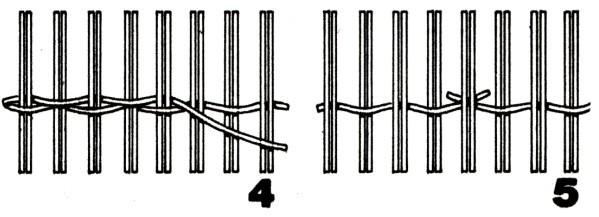 Плетение из лозы, виды плетения, просто, для начинающих