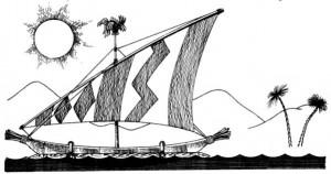 Пирога, модели кораблей