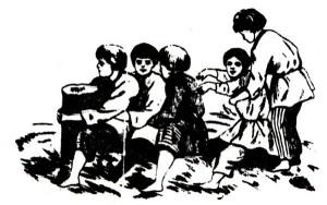 Репка, игры во дворе