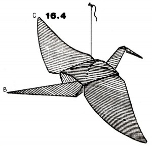 Журавлик, оригами