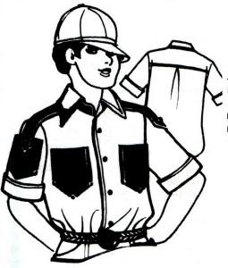 Перешиваем папину рубашку сыну