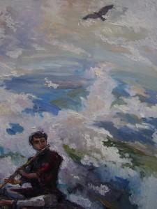 Флейтист и небо, Юрий Кузнецов