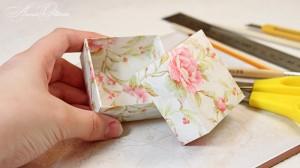 Изготовление упаковки. Коробочки из бумаги своими руками. Мастер-класс